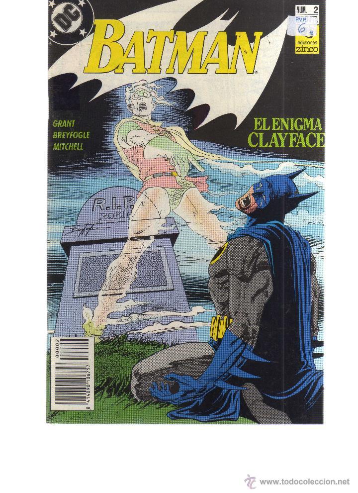 BATMAN Nº 2 ED. ZINCO - CJ43 (Tebeos y Comics - Zinco - Otros)