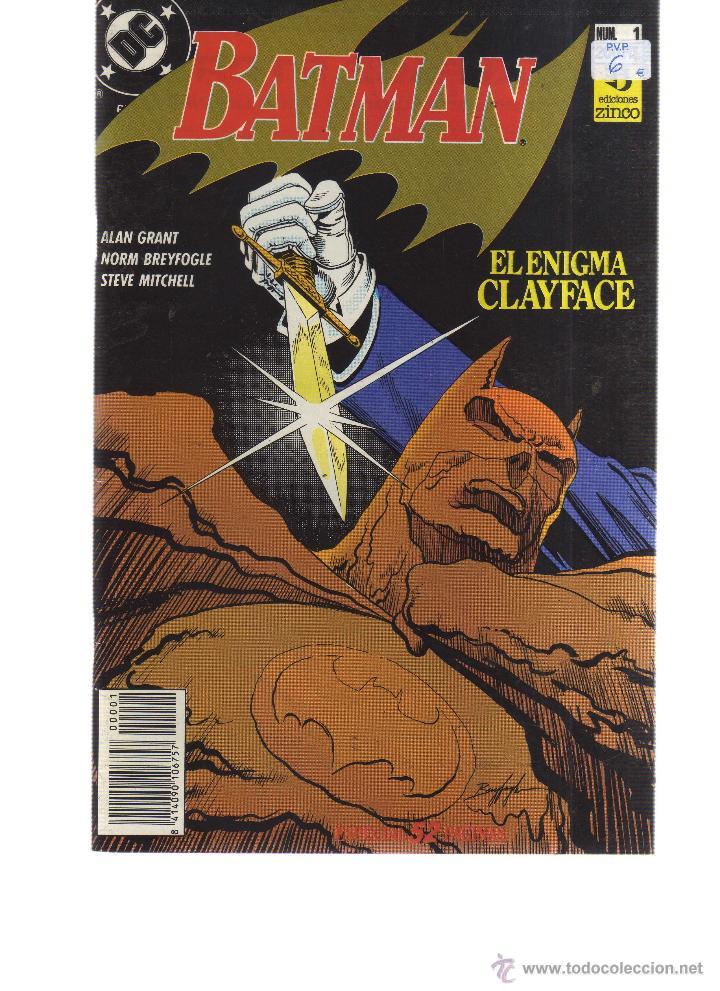 BATMAN Nº 1 ED. ZINCO - CJ42 (Tebeos y Comics - Zinco - Otros)