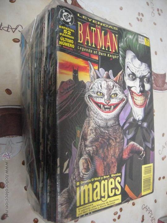 LEYENDAS DE BATMAN COMPLETA DE 44 NUMEROS (Tebeos y Comics - Zinco - Batman)