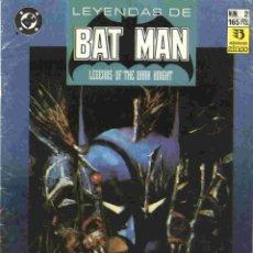 Cómics: LEYENDAS DE BATMAN NÚMERO 2. Lote 42649600