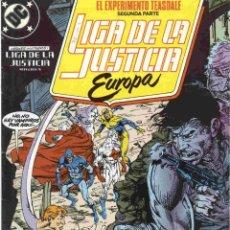Cómics: LIGA DE LA JUSTICIA EUROPA NÚMERO 7. Lote 142454680