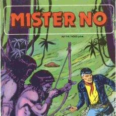 Cómics: MISTER NO NÚMERO 14. Lote 42650302