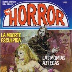 Cómics: COMIC HORROR N.89 RELATOS GRÁFICOS PARA ADULTOS. Lote 43112637