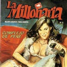 Cómics: COMIC LA MILLONARIA N.11 RELATOS GRÁFICOS PARA ADULTOS. Lote 43113392