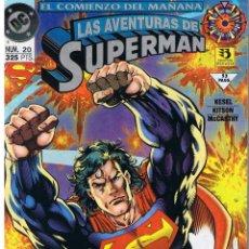 Cómics: LAS AVENTURAS DE SUPERMAN. Nº 20. EL COMIENZO DEL MAÑANA. ZINCO 1994.(CA24). Lote 43142137