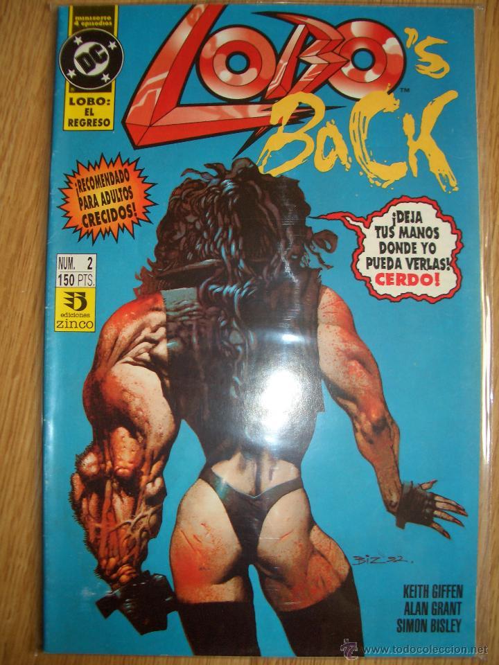 LOBO'S BACK #2 (EDICIONES ZINCO, 1993) (Tebeos y Comics - Zinco - Lobo)