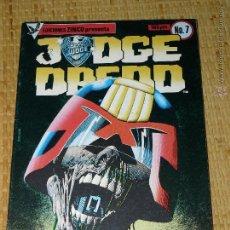 Cómics: TEBEOS-COMICS CANDY - JUDGE DREDD - Nº 7 - ZINCO - 1984 - 1ª EDICION *AA99. Lote 43282622