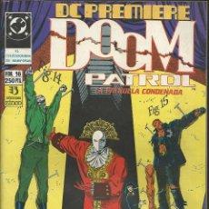 Cómics: DOOM PATROL - LA PATRULLA CONDENSADA Nº 16 - EDIC. ZINCO 1990. Lote 43366443
