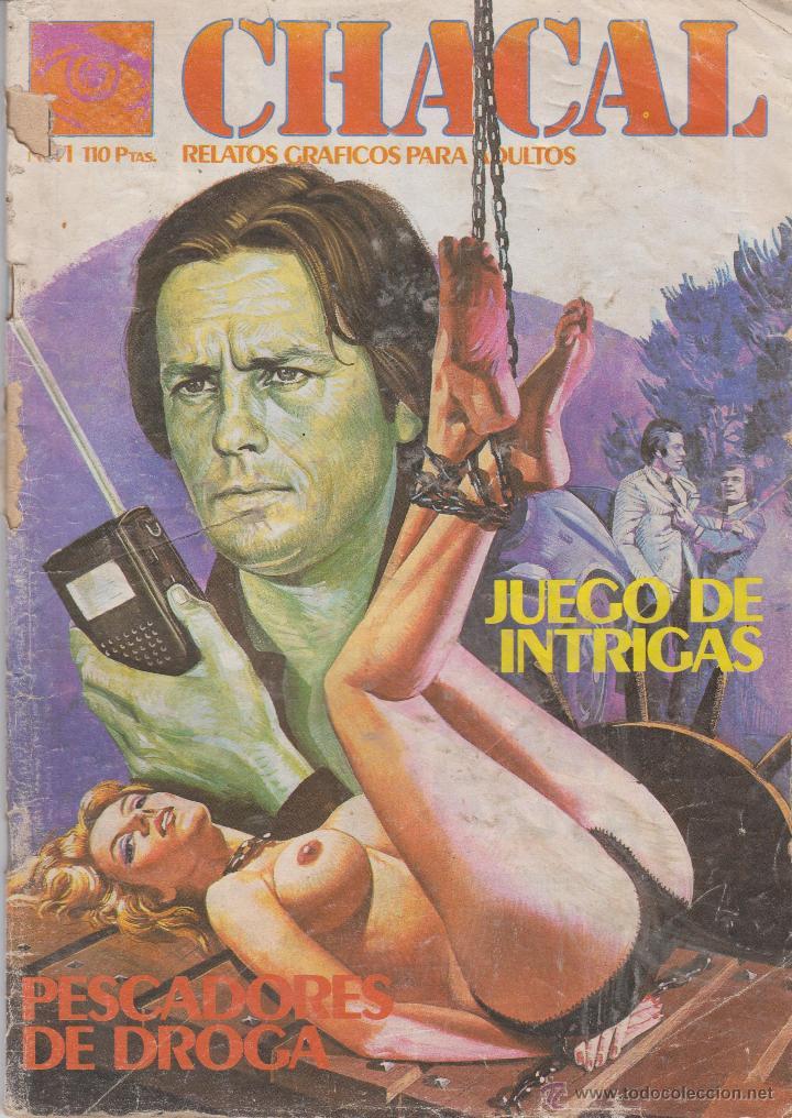 COMIC CHACAL Nº 41 DE 66PGS.ED.ZINCO / WORLDTECH 1985 ADULTOS (Tebeos y Comics - Zinco - Otros)