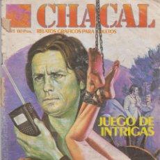 Cómics: COMIC CHACAL Nº 41 DE 66PGS.ED.ZINCO / WORLDTECH 1985 ADULTOS. Lote 43372722