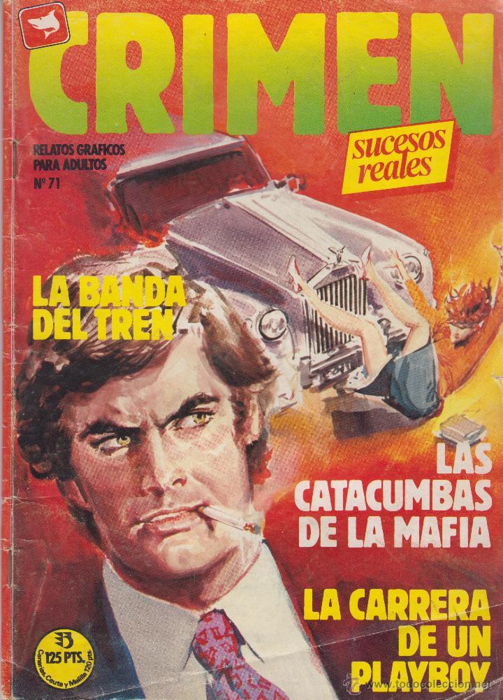 COMIC CRIMEN Nº 71 DE 66PGS.ED.ZINCO / WORLDTECH 1985 ADULTOS (Tebeos y Comics - Zinco - Otros)
