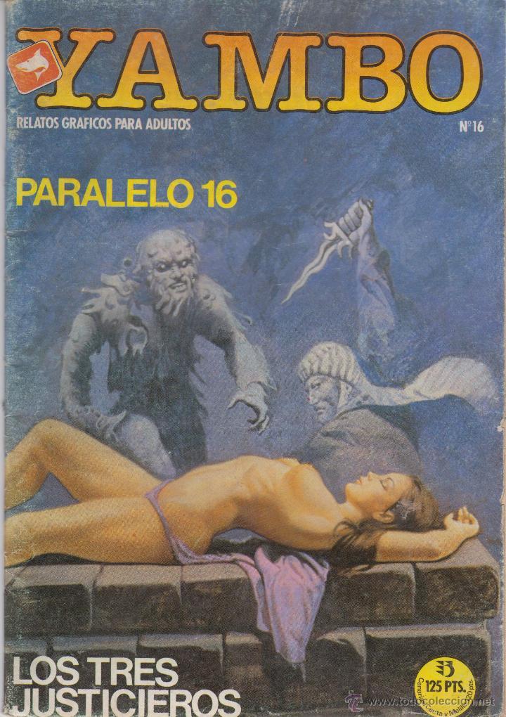 COMIC YAMBO Nº 16 DE 66PGS.ED.ZINCO / WORLDTECH 1987 ADULTOS (Tebeos y Comics - Zinco - Otros)