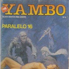 Cómics: COMIC YAMBO Nº 16 DE 66PGS.ED.ZINCO / WORLDTECH 1987 ADULTOS. Lote 43373142