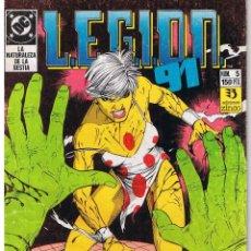 Cómics: LEGION 91 L.E.G.I.O.N. 91. NUMERO 5. EDICIONES ZINCO 1991. Lote 43443254