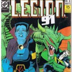 Cómics: LEGION 91 L.E.G.I.O.N. 91. NUMERO 6. EDICIONES ZINCO 1991. Lote 43443282
