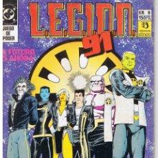 Comics : LEGION 91 L.E.G.I.O.N. 91. NUMERO 9. EDICIONES ZINCO 1991. Lote 43443303
