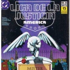 Comics : LIGA DE LA JUSTICIA AMERICANA. NUMERO 34. EDICIONES ZINCO . Lote 43444626