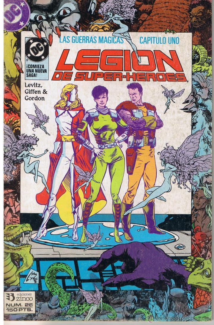 LEGIÓN DE SUPER HEROES. NUMERO 28. EDICIONES ZINCO (Tebeos y Comics - Zinco - Legión 91)