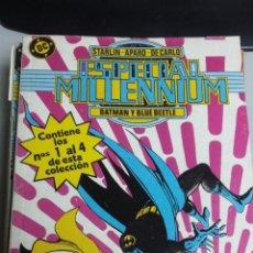 Cómics: ESPECIAL MILLENNIUM Nº 1 , 2 , 3 Y 4 ¡ RETAPADO CON 4 NUMEROS ! DC - ZINCO. Lote 98431748