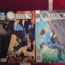 Cómics: THE QUESTION - EDICIONES ZINCO - COLECCION COMPLETA - MUY BUEN ESTDO CJ 26. Lote 43494267