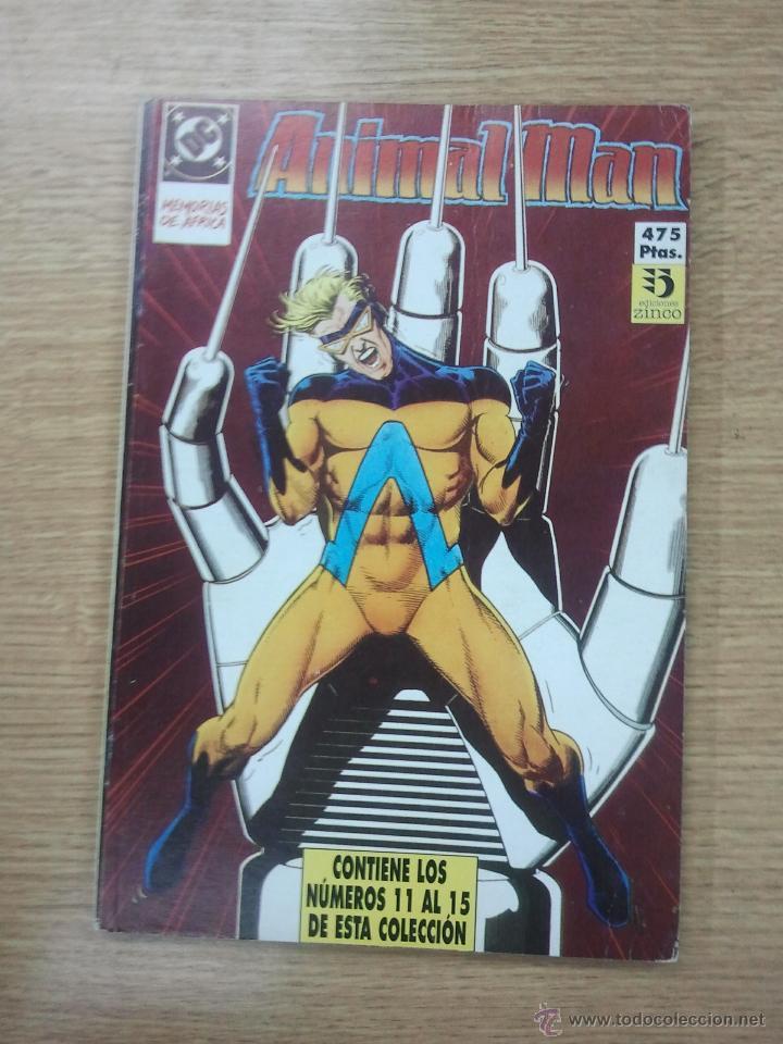 ANIMAL MAN RETAPADO #3 (NUMEROS 11 A 15) (Tebeos y Comics - Zinco - Retapados)