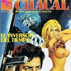 Cómics: COMIC CHACAL N. 45 RELATOS GRAFICOS PARA ADULTOS . Lote 43530748