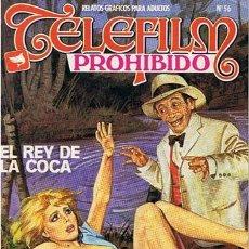 Cómics: COMIC TELEFILM PROHIBIDO N.56 RELATOS GRAFICOS PARA ADULTOS . Lote 43531197