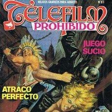 Cómics: COMIC TELEFILM PROHIBIDO N. 83 RELATOS GRAFICOS PARA ADULTOS . Lote 43531286