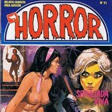 Cómics: COMIC HORROR N.91 RELATOS GRAFICOS PARA ADULTOS . Lote 43531410