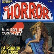 Cómics: COMIC HORROR N.90 RELATOS GRAFICOS PARA ADULTOS . Lote 43531486
