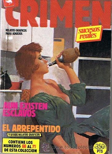 COMIC CRIMEN CONTIENE LOS NÚMEROS 68 AL 71 DE ESTA COLECCIÓN RELATOS GRAFICOS PARA ADULTOS (Tebeos y Comics - Zinco - Retapados)