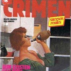 Cómics: COMIC CRIMEN CONTIENE LOS NÚMEROS 68 AL 71 DE ESTA COLECCIÓN RELATOS GRAFICOS PARA ADULTOS . Lote 43547814