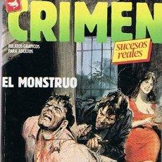 Cómics: COMIC CRIMEN N.84,85,86 Y EXTRA 1 RELATOS GRÁFICOS PARA ADULTOS . Lote 43547868