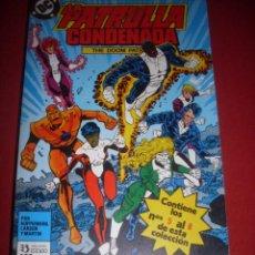 Comics : DC LA PATRULLA CONDENADA RETAPADO DEL 05 AL 08 MUY BUEN ESTADO. Lote 43686570