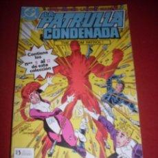 Comics : DC LA PATRULLA CONDENADA RETAPADO DEL 09 AL 12 MUY BUEN ESTADO. Lote 43686573