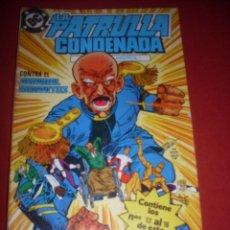 Comics : DC LA PATRULLA CONDENADA RETAPADO DEL 13 AL 16 MUY BUEN ESTADO. Lote 43686578