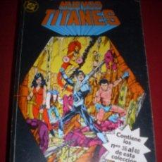 Comics : DC NUEVOS TITANES RETAPADO DEL 36 AL 40 MUY BUEN ESTADO. Lote 43686597