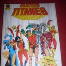Comics : DC NUEVOS TITANES RETAPADO DEL 06 AL 10 MUY BUEN ESTADO. Lote 43686892