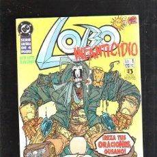 Cómics: TEBEO LOBO. INFANTICIDIO. REZA TUS ORACIONES, GUSANO. SERIE LIMITADA DE 4 EPISODIOS. Nº 1. DC. Lote 86755511