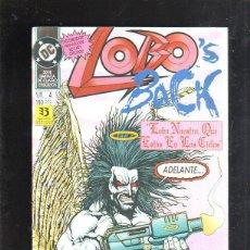 Comics : TEBEO LOBO. LOBO'S BACK. LOBO NUESTRO QUE ESTAS EN LOS CIELOS. Nº 4. DC. Lote 86755540