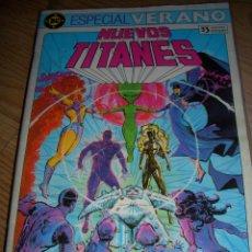 Cómics: ESPECIAL VERANO NUEVOS TITANES (ZINCO). Lote 44264546