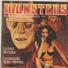 Cómics: MONSTERS Nº 3. . Lote 44281892