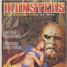 Cómics: MONSTERS Nº 4. . Lote 44281920