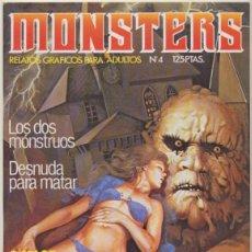 Cómics: MONSTERS Nº 4. . Lote 44281938