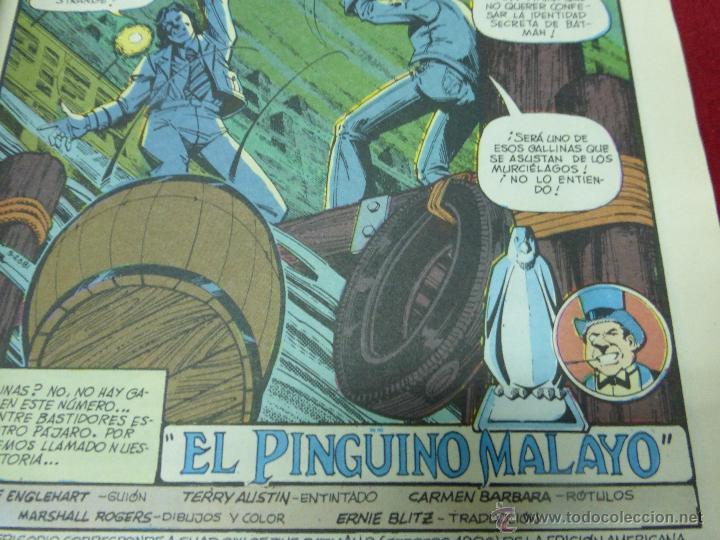 Cómics: La sombra de Batman Nº 5 El pingüino Malayo, Clásicos DC - Foto 3 - 44436277