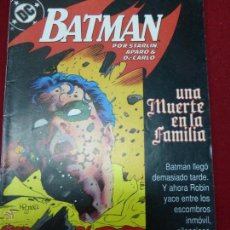 Cómics: BATMAN - UNA MUERTE EN LA FAMILIA Nº 3 (DE 3) - DC (ZINCO) - AÑO 1988. Lote 44436343