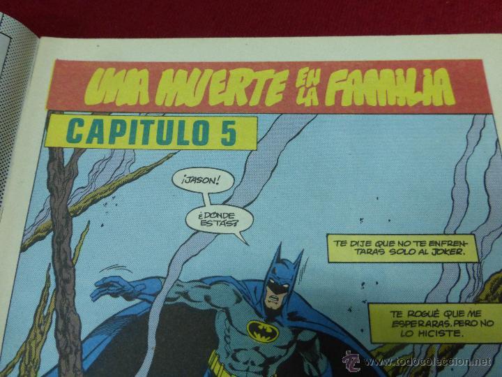 Cómics: Batman - Una muerte en la familia nº 3 (de 3) - DC (Zinco) - AÑO 1988 - Foto 3 - 44436343
