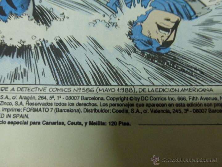 Cómics: BATMAN - N 32 - ATRAPADO - 1988 - ZINCO - Foto 2 - 44436414