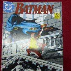 Cómics: BATMAN NUMERO 44. ECSTASY - ZINCO AÑO 1988. Lote 44437150