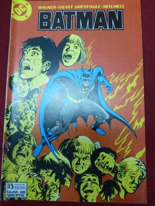 BATMAN NUMERO 28. BAJADA DE FIEBRE - ZINCO AÑO 1987 (Tebeos y Comics - Zinco - Batman)